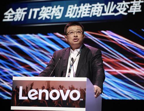 联想集团副总裁、中国区总经理-童夫尧发表演讲.jpg
