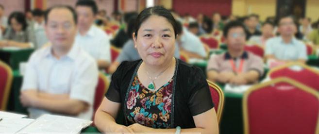 《政府采购信息报》社长兼总编辑刘亚利致辞。