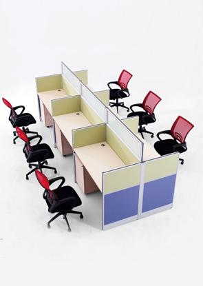 工作区域办公桌