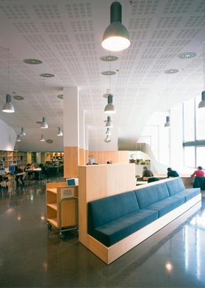 图书馆座椅