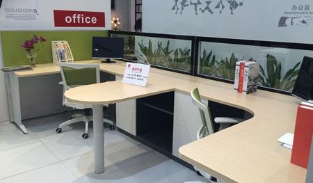 因此在办公家具环境设计中,绿植是不可缺少的元素.图片