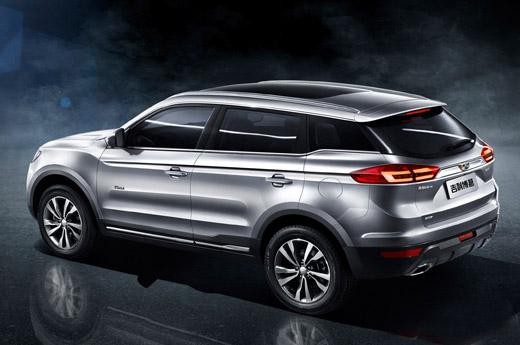 吉利汽车新款SUV车型NL 3定名为博越高清图片