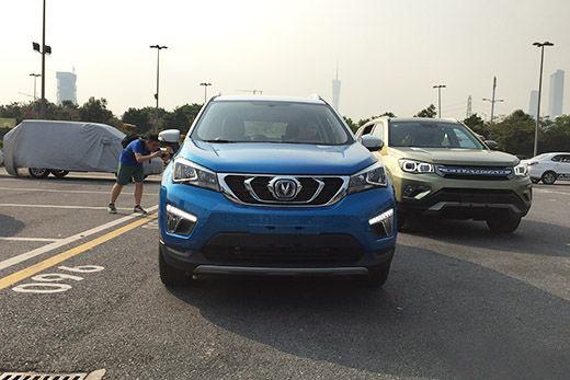 2015广州车展探馆:长安cs15