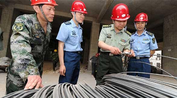 济南军区严审细算 确保战备工程投资效益
