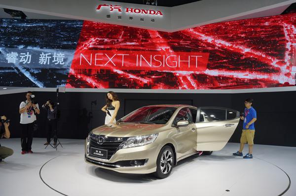 广汽本田新款凌派-12月将上市新车 多达15款 自主占六成高清图片