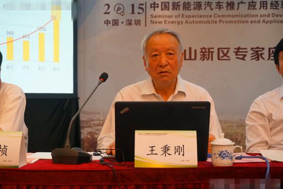 国家863节能与新能源汽车项目监理咨询专家组组长王秉刚