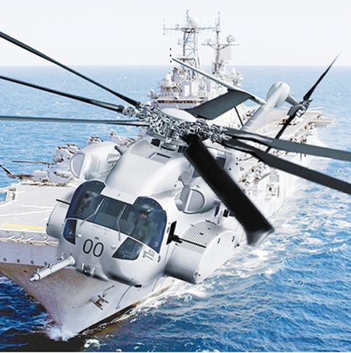 美国海军陆战队CH-53K重型直升机
