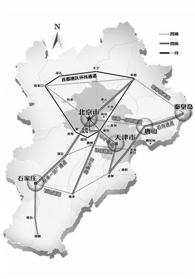 邯郸到秦皇岛火车路线图