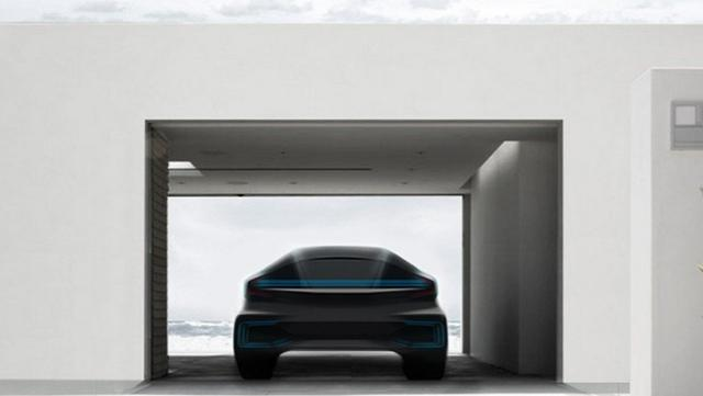 Faraday Future 神秘车型