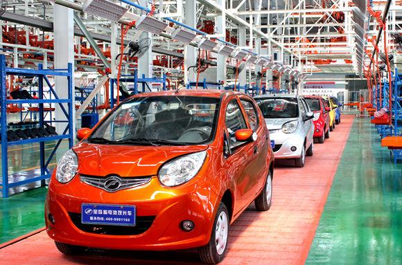 江西 打造最大新能源汽车城高清图片