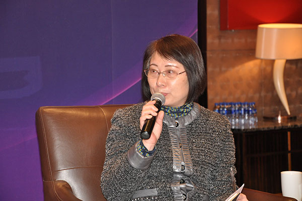 上海市政府采购中心副主任孙嘉蕙
