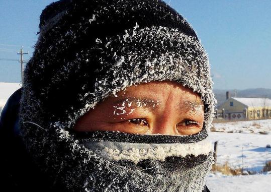 额尔古纳市机耕队监测点监测到零下47.5℃低温