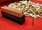 子弹由弹壳、底火、发射药、弹头四部分组成。生产子弹的材料是黄铜,其优点主要在于延展性好,有一定的强度,并且比钢更耐腐蚀。