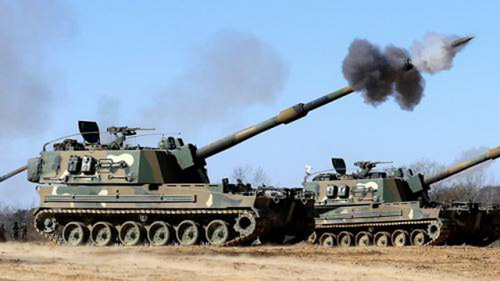 印军拟斥资8亿美元采购韩国K-9自行火炮