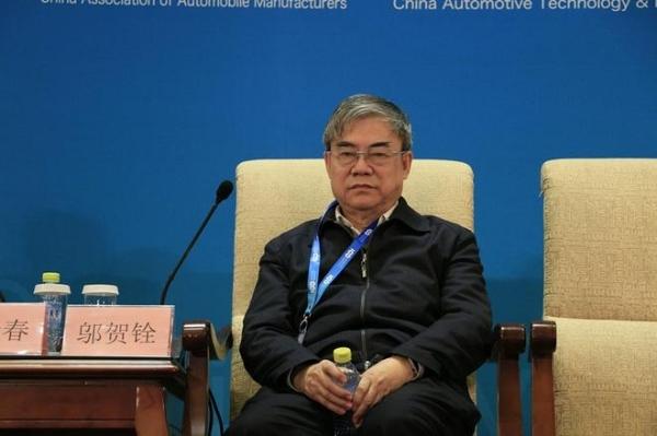 邬贺铨:车联网是电动汽车新业态的基础