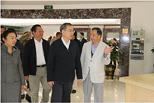 云南省公共资源交易管理局党组书记、局长高天森陪同调研。