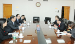 1月25日,史耀斌副部长会见亚洲开发银行副行长张文才,双方就中国与亚行合作、中亚学院等议题交换了意见。