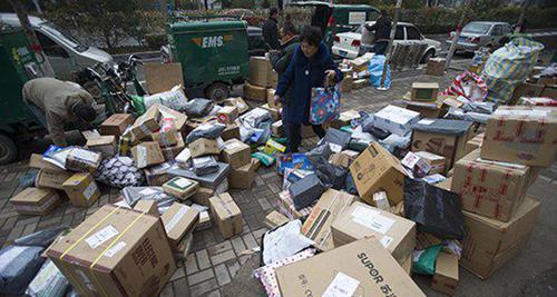 春节期间快递业务总量超1000万件