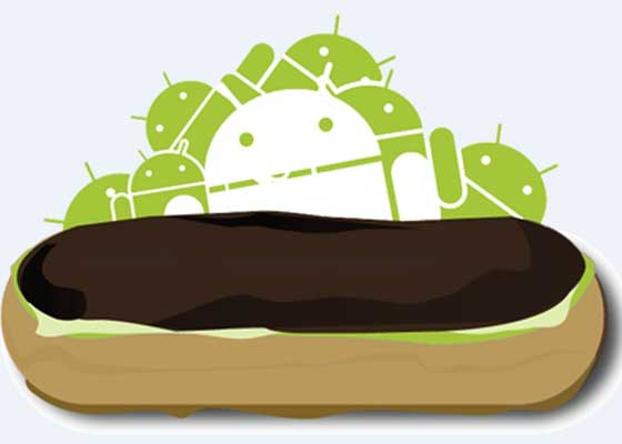 Android 2.0的代号是闪电泡芙(éclair),于2009年9月开放使用。摩托罗拉Droid是首款搭载该系统的手机。它最大的突破是支持多点触控、软键和Microsoft Exchange Server。