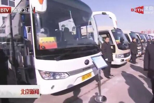 当北京市委书记登上两会用车宇通T7时……