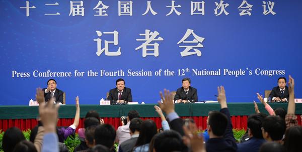 """【两会】财政部就""""财政工作和财税改革""""答记者问"""