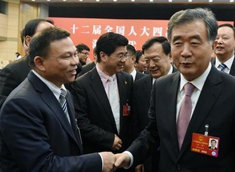 汪洋副总理点赞 郑坚江:增强了我的信心