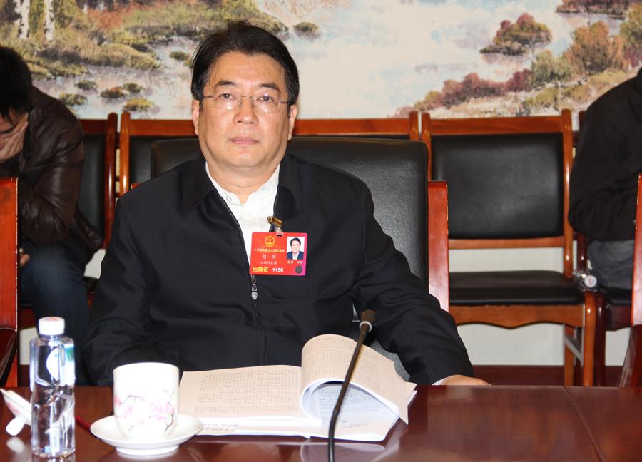 江西省财政厅厅长胡强