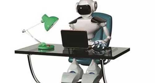 写稿机器人0.3秒写完股市新闻