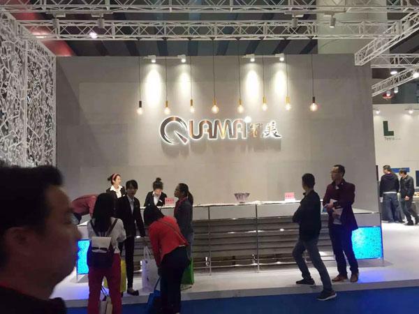 2016年3月28日至31日,第37届中国(广州)家博会第二期办公环境展举办。近千家国内知名办公家具企业参展。图为冠美家具展台。
