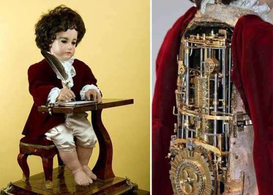 一台能够自动运行、可编程的机器,是不是觉得难以置信呢?它能用鹅毛笔写字母和单词,并且时隔250年仍然能正常工作。
