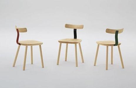 英国设计师Jasper Morrison和日本设计师Naoto Fukusawa设计的椅子。