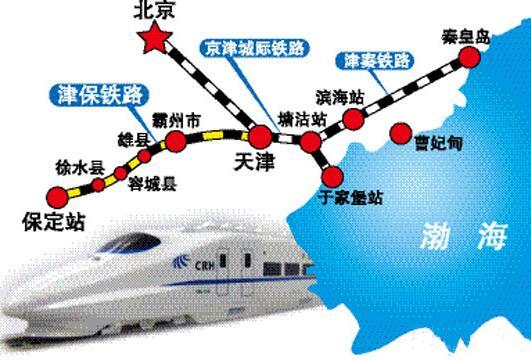 秦皇岛到承德铁路规划