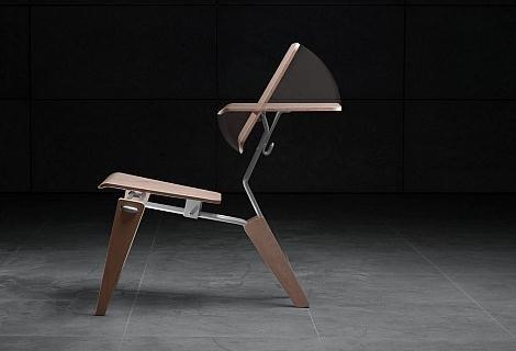 椅背部分可以旋转变形