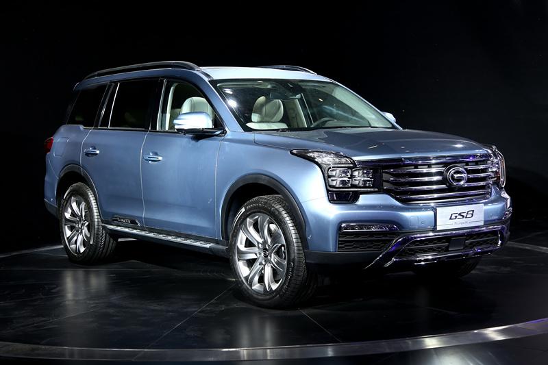 广汽传祺GS8-传祺大型SUV GS8下半年上市高清图片