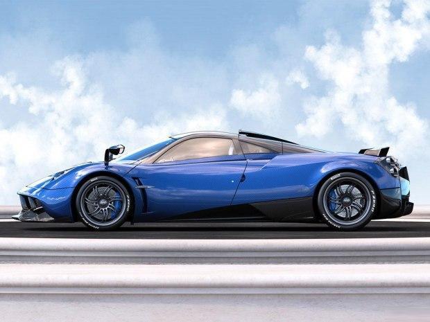 外观方面,HuayraPearl整体采用了蓝色与碳色搭配的全碳纤维车身,色泽晶莹剔透。新车采用了大量空气动力学部件,包括车顶进气口、分体式后扰流板和主动式扩散器等。另外,新车的制动卡钳也采用了蓝色喷涂。
