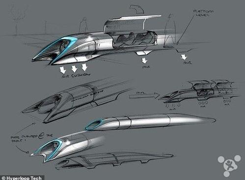 """这次公开测试的内容主要是""""超级高铁""""的推进系统。"""