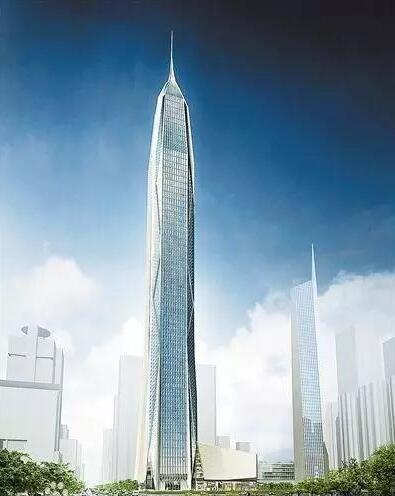 深圳平安金融中心,600米,通力、日立、迅达、奥的斯