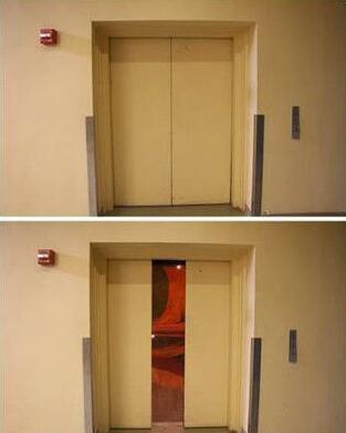 异次元电梯:这是纽约皇后区里最有艺术气息的电梯,外表平凡无奇,但是一打开门就气势惊人,仿佛是异世界的入口。