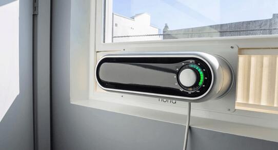 这款便携式空调——Noria。没错,就是便携的!