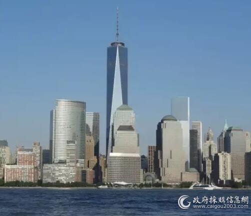 美国自由塔是在911双子楼倒塌的基础上重建的...采用麦克维尔水冷整装式空调机组...