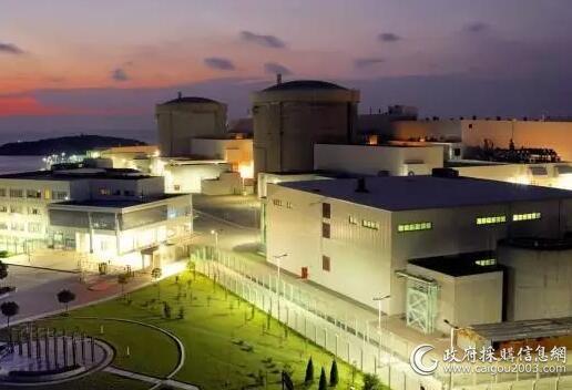 秦山核电站采用重庆美的.通用R134a离心式制冷机组...