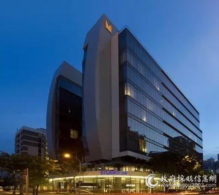 M-酒店.新加坡新加三台400冷吨特灵离心冷水机组,R123冷媒特灵Tracer SummitTM楼宇控制系统...