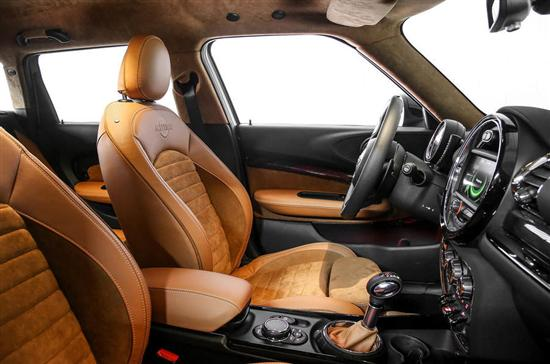 动力方面,MINI全新Clubman概念车有望采用与标准版车型相同的动力系统,搭载2.0升的TwinPower四缸涡轮增压发动机,最大输出功率为141千瓦,峰值扭矩为280牛米,百公里加速时间6.6秒,最高时速为225公里。