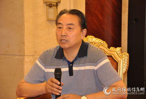 陕西省财政厅采购资产处处长薛亚省