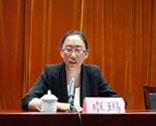 青海省财政厅政府采购监督管理处科长 索朗卓玛
