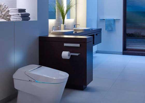 4. Toto Neorest 750H马桶(1万美元)    Toto Neorest 750H售价1万美元(约合6.56万人民币),它无疑是世界上最昂贵的马桶之一。它配备各类附加功能:温水清洗,暖气烘干,座椅加热,整合光照,防臭,等等。它可以说是如厕相关奢华产品的极致。