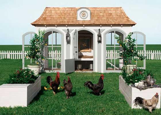 13. Neiman Marcus鸡笼(10万美元)    实在想不到比这更加奢侈的养殖方式了。Neiman Marcus的Beau Coop鸡笼售价高达10万美元(约合65.6万人民币)。