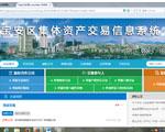 宝安区社区集体资产交易信息系统正式上线运行