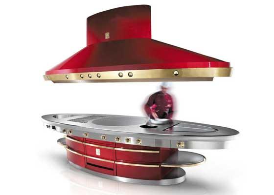 16. 伊莱克斯Molteni炉灶(10万美元)    5万美元级别的炉灶还不够奢华?伊莱克斯 Molteni炉灶或许更能迎合土豪的口味。它出产于法国,每一个组成部分都由工匠手工做成。Electrolux的设计目标是,让其成为你的厨房的中心。它说,Molteni非常耐用,使用寿命极长。其售价达到10万美元(约合65.56万人民币)。