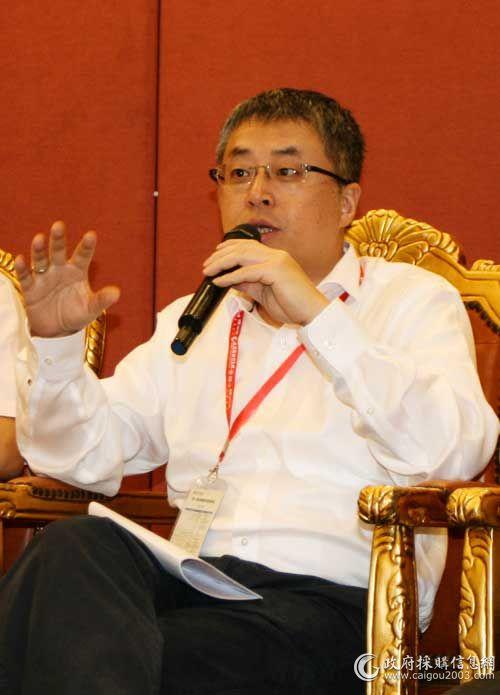 惠普公司打印解决方案企业客户部总经理王中昊